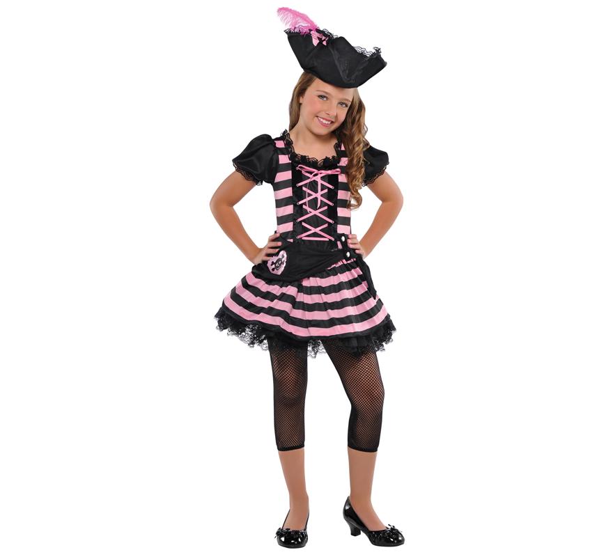 Disfraces infantiles - Piratas, Bucaneros y Corsarios - Niña