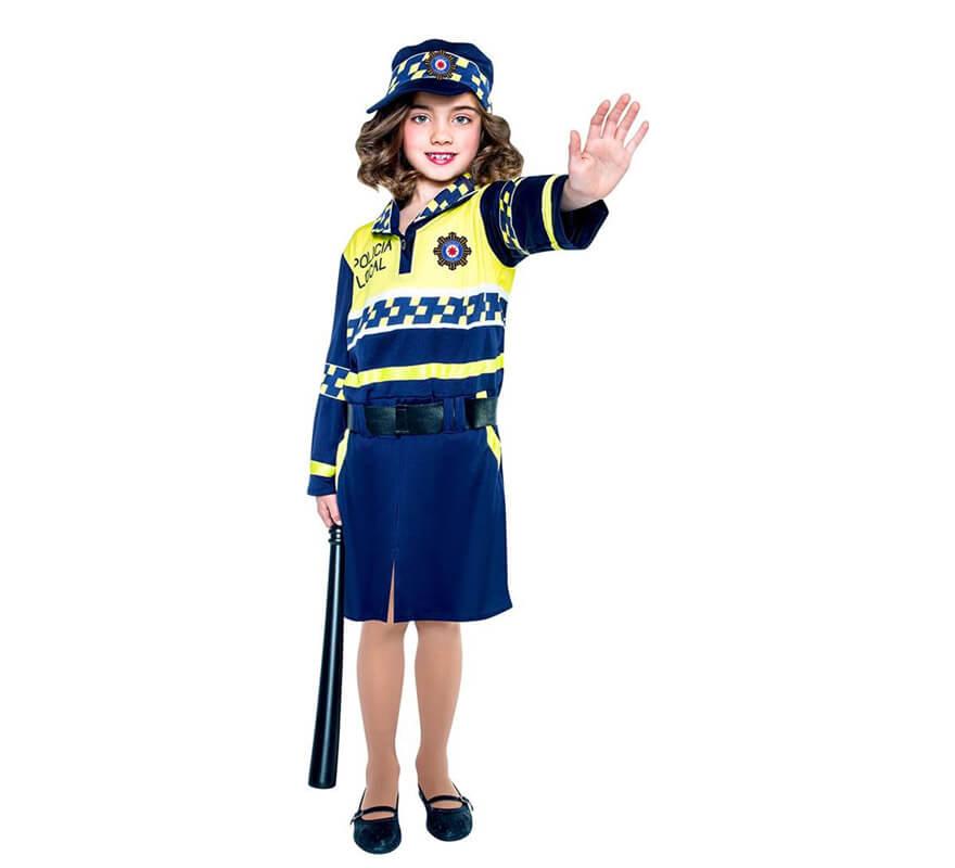 c9fff62d4 Disfraz de Policía local para niña