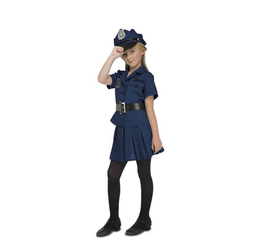 7f4084522 Disfraz de Policía Local para niña