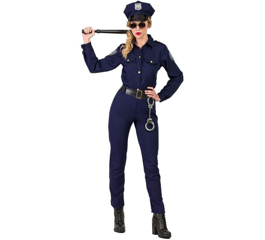 9ca3a7e38f Disfraz de Policía New York para mujer
