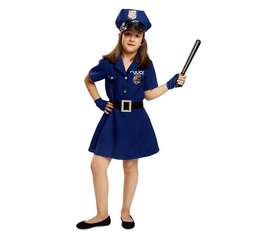 5fc9ef987 Disfraz de Policía para niña