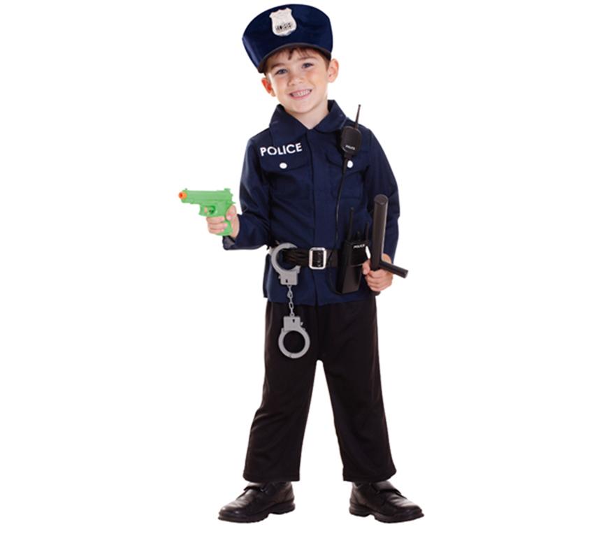 Disfraz de polic a para ni os de 3 a 6 a os for Sillas para ninos de 3 a 6 anos