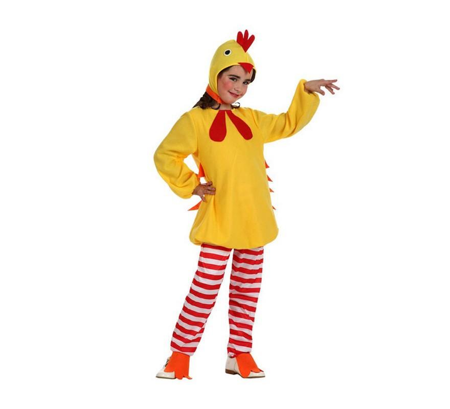 de Pollito amarillo para niñas