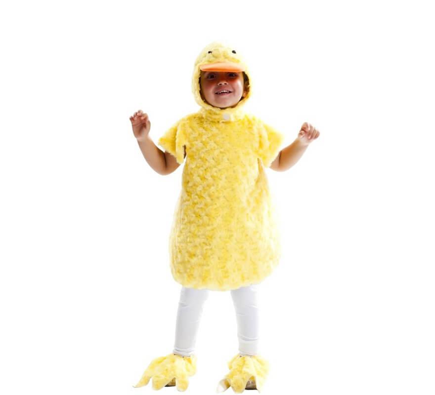 Disfraz de Pollito Peluche para niños