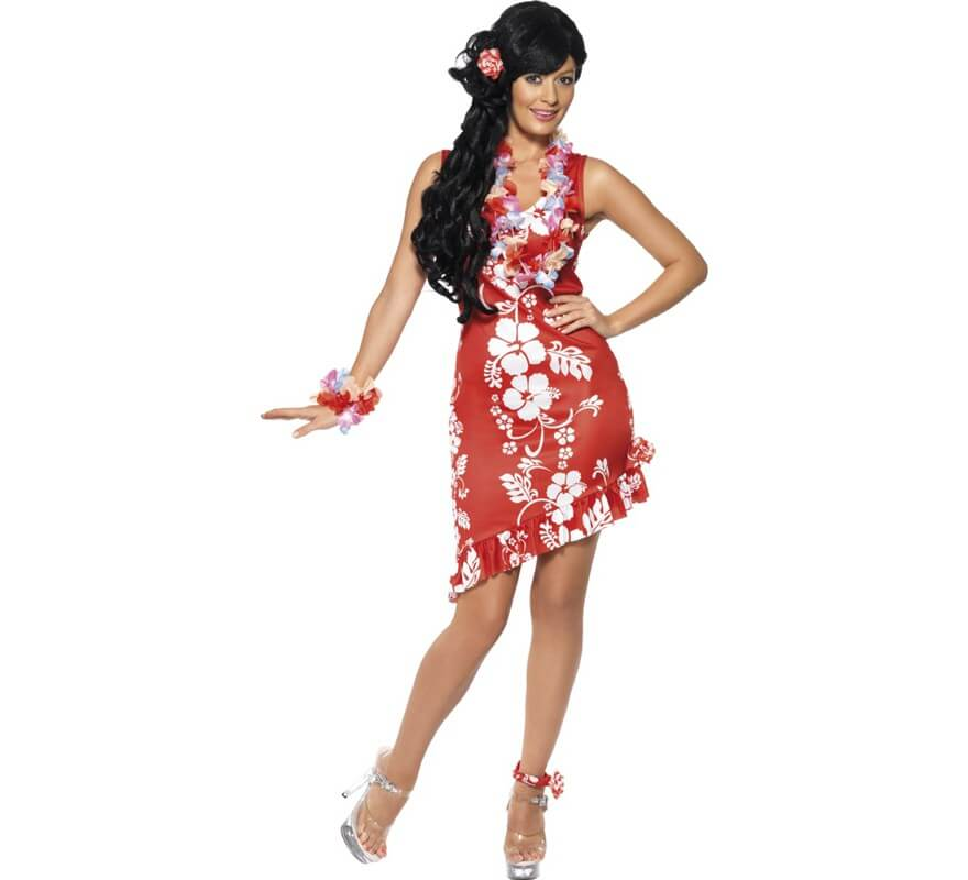 última selección bonita y colorida mejor precio para Disfraz de Princesa Hawaiana para mujer