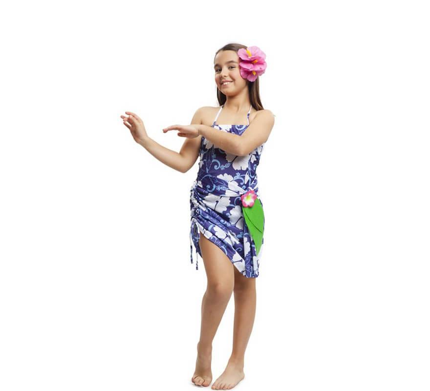 recogido mejor valor último diseño Disfraz de Princesa Hawaiana para niña