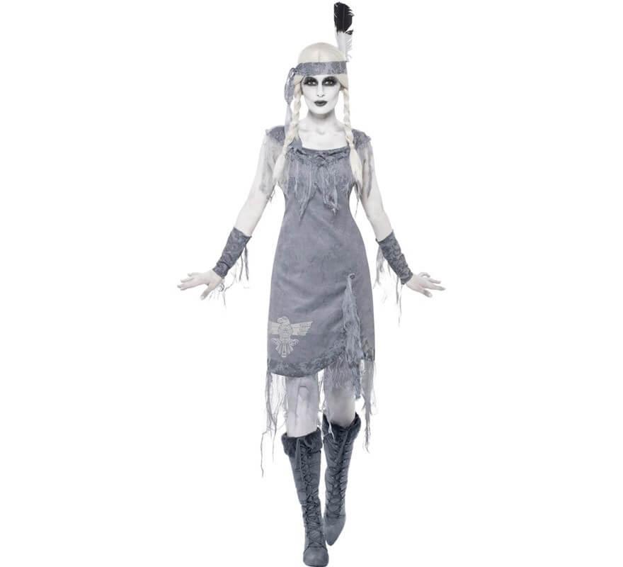 Fantôme Déguisement Femme Princesse M De Indienne Pour 76fgby