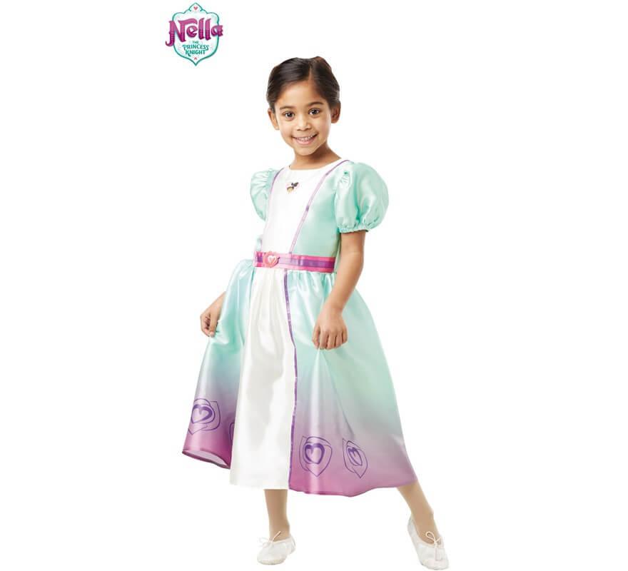 Disfraz de Princesa Nella Clásico para niña