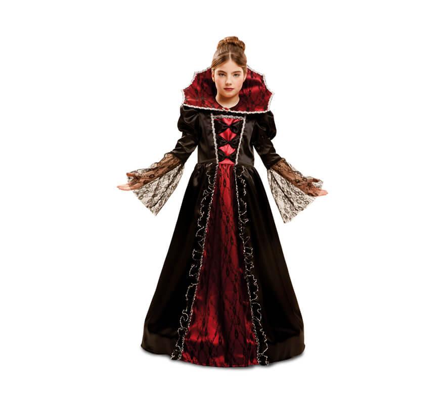 Disfraz de princesa vampiresa para ni as para halloween - Halloween hipercor ...