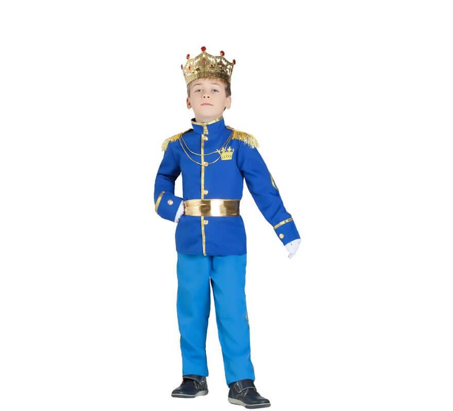 4d8011daf Disfraz de Príncipe Azul para niño