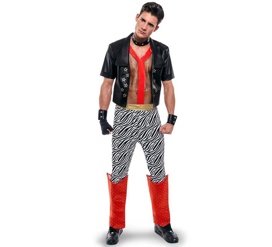 D guisement de punk des ann es 80 pour homme - Deguisement des annees 80 ...