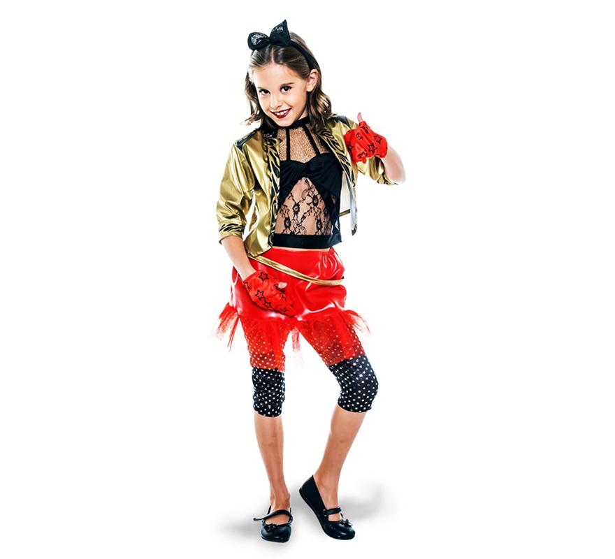 Déguisement de Punk des années 80 pour filles
