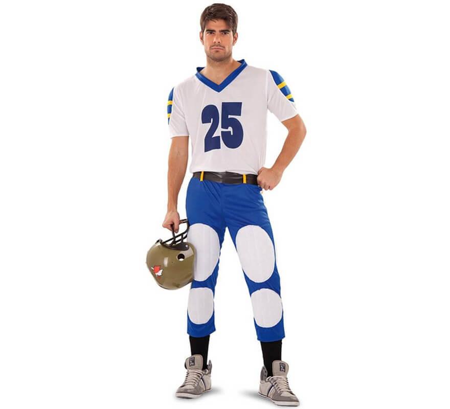 Disfraz de Quarterback o Jugador Rugby para hombre ecfc77e2076