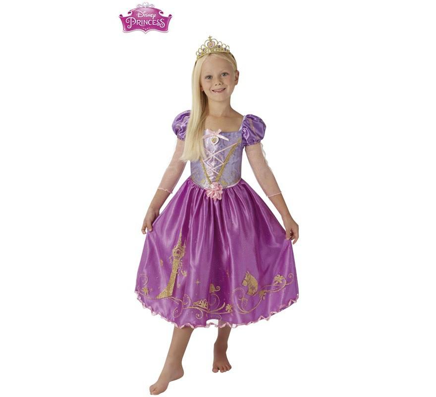 Disfraz de rapunzel deluxe para ni a - Halloween hipercor ...