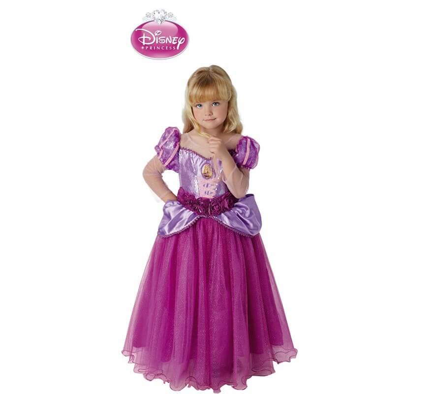 de Rapunzel premium de Disney para niña