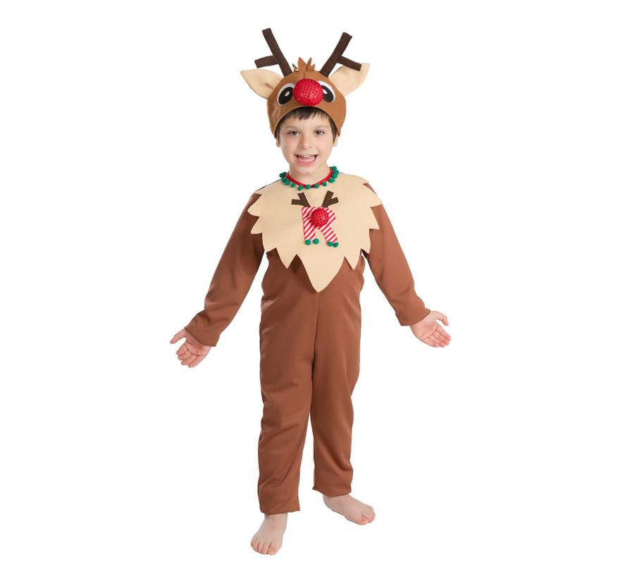 Disfraz de reno para beb s y ni os para navidad - Disfraces para navidad ninos ...