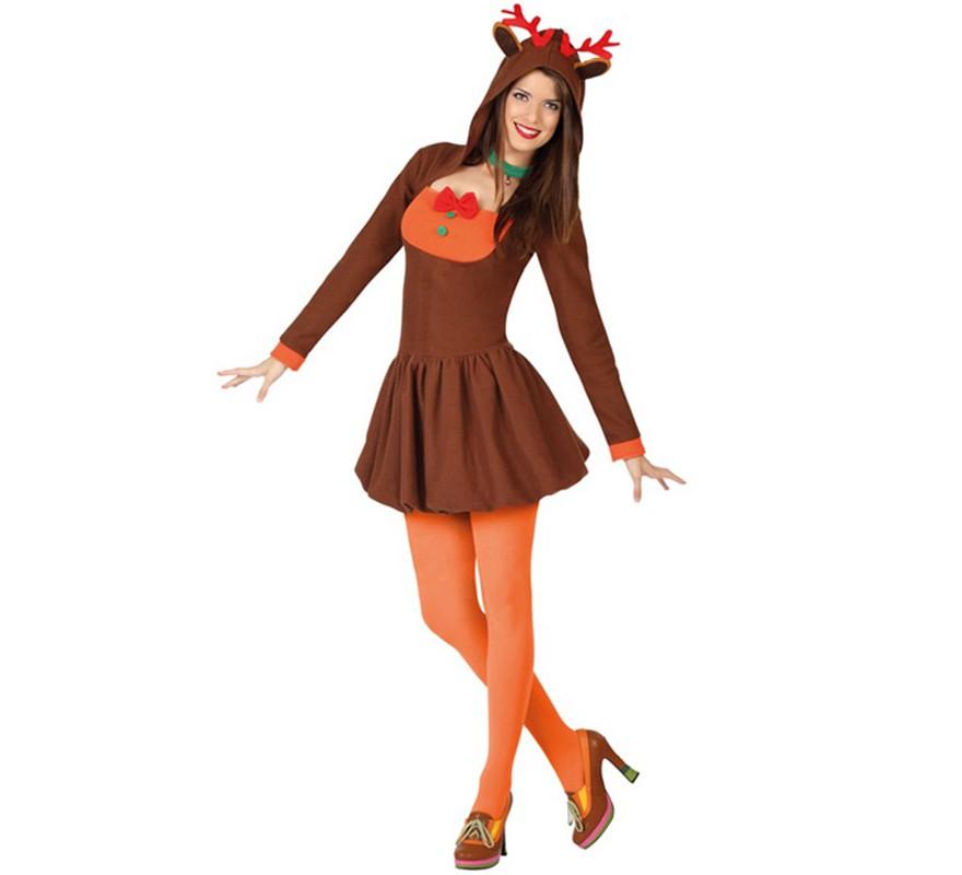 Disfraz De Reno Para Mujer - Disfraz-reno