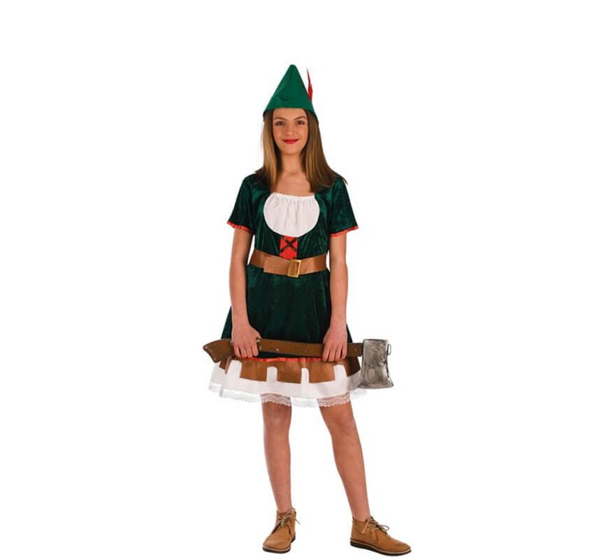 D guisement robin des bois pour filles - Deguisement robin des bois fille ...