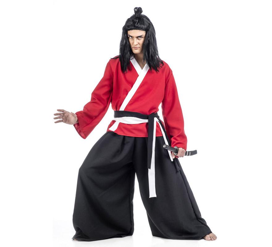 Disfraz de Samurai Saya para hombre