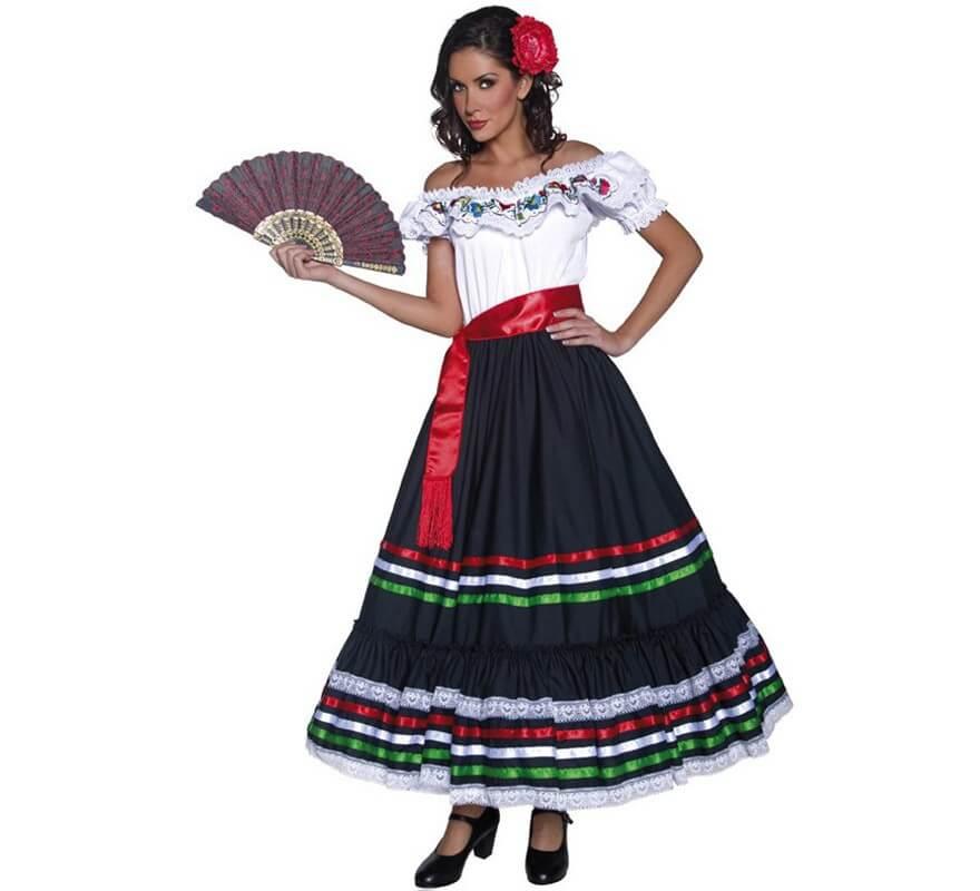 Disfraz de Señorita Mexicana del Oeste para mujer dd885e8c864