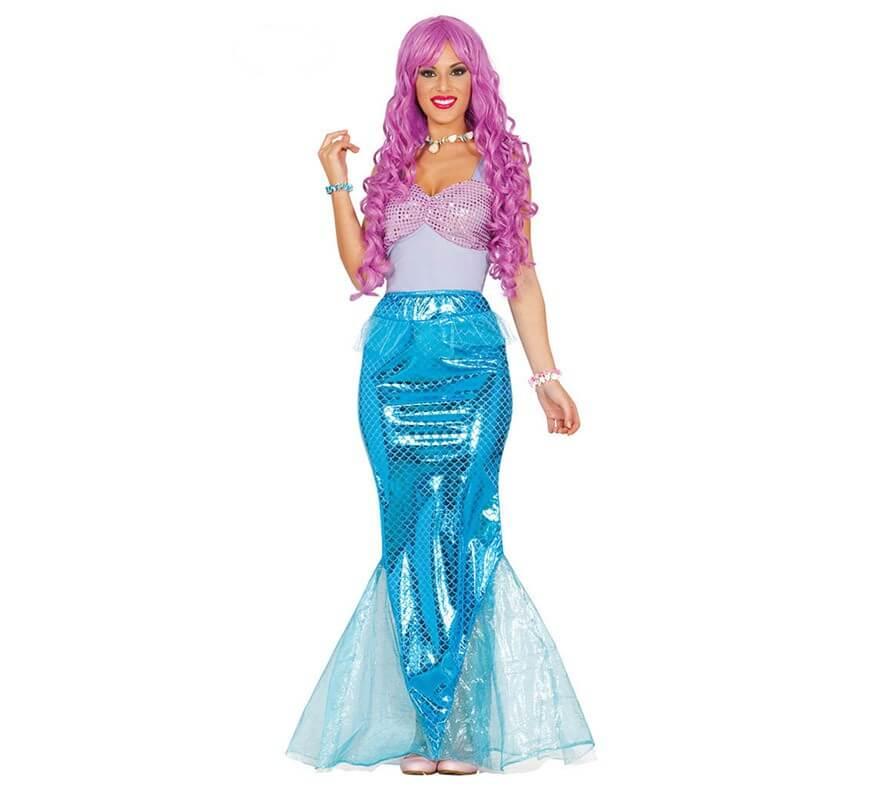 Disfraz de sirena glamour para mujer - Robe barbie adulte ...