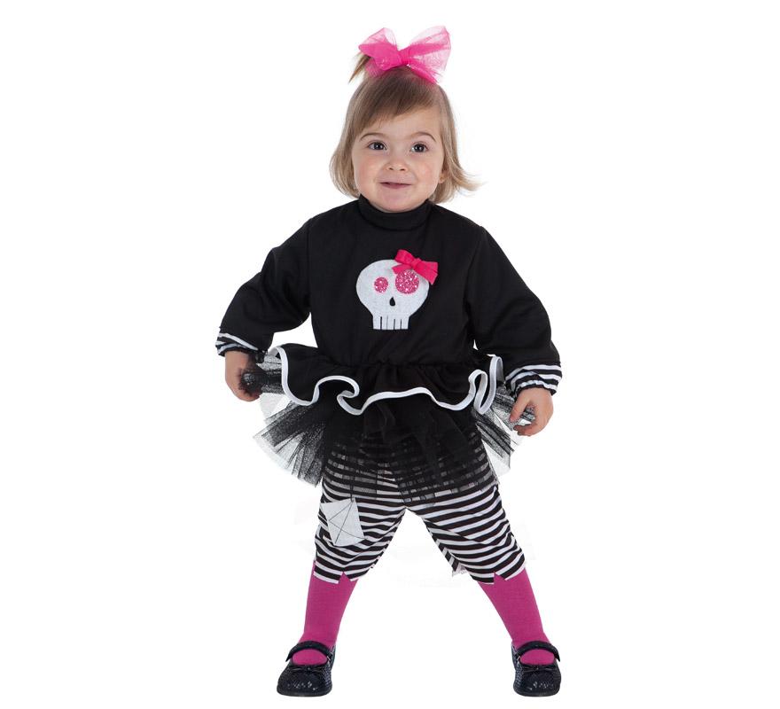 Disfraz de Skeleta para bebé