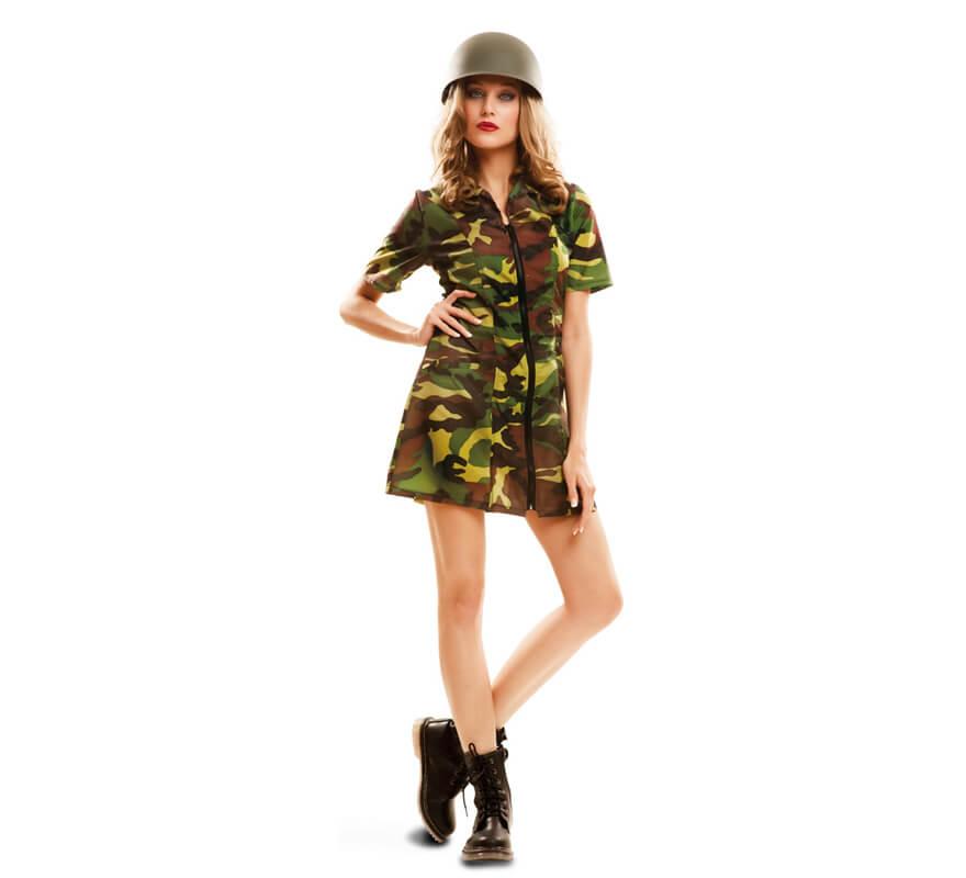 Disfraz de Soldado de camuflaje para mujer 63560897ce0