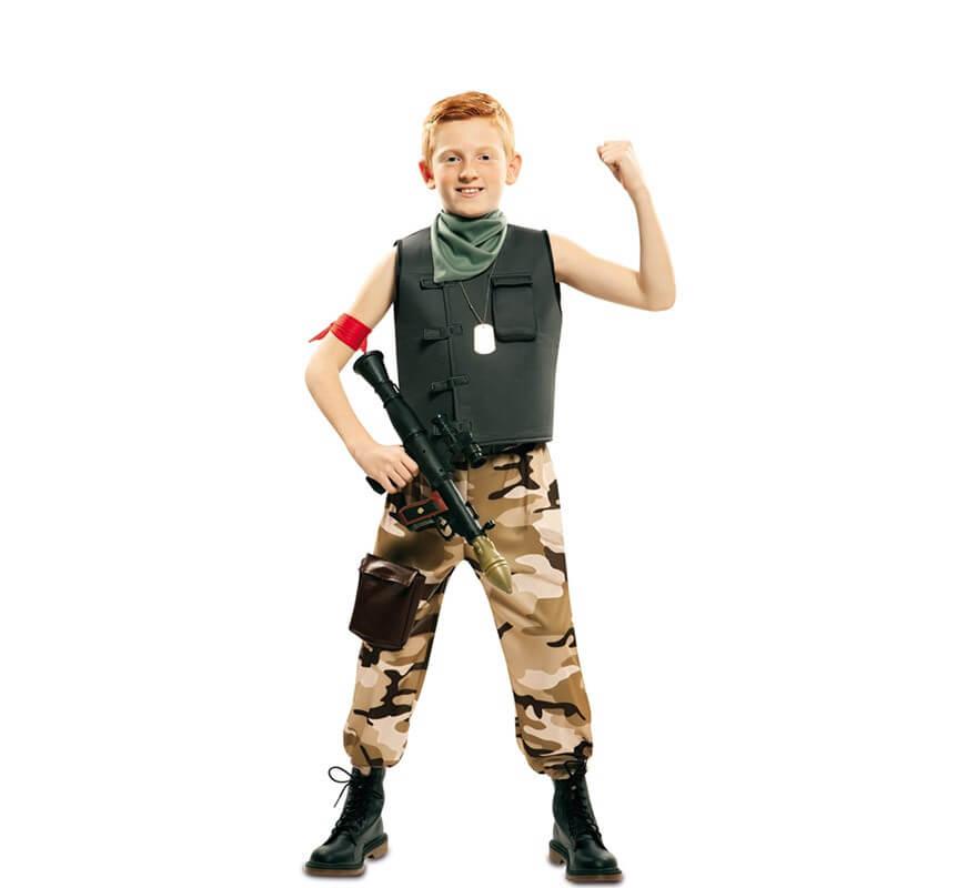 Disfraz De Soldado De Combate Para Nino