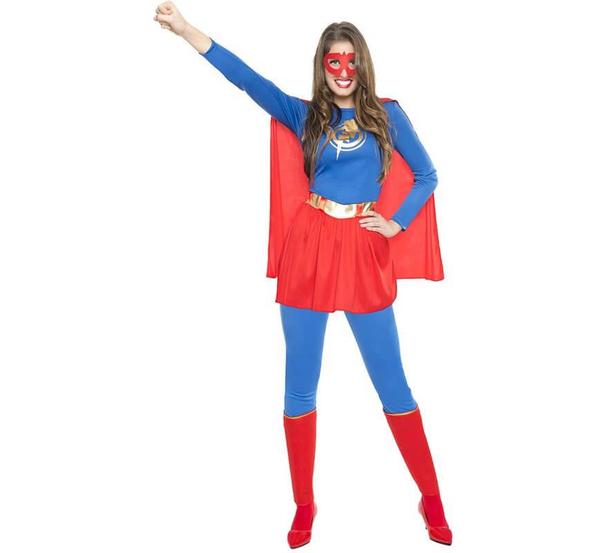 disfraz superwoman mujer