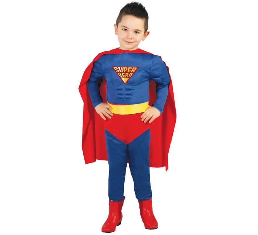 D guisement de super h ros muscl pour enfant - Super heros deguisement ...