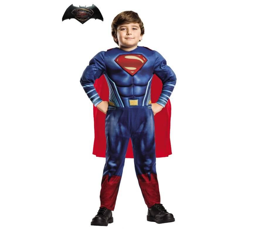 0b409cb3933 Disfraz de Superman Deluxe BvS para niño