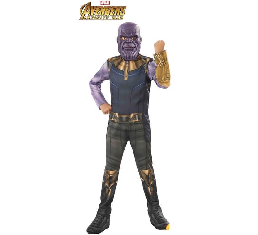 Disfraz de Thanos Clásico de los Vengadores para niño