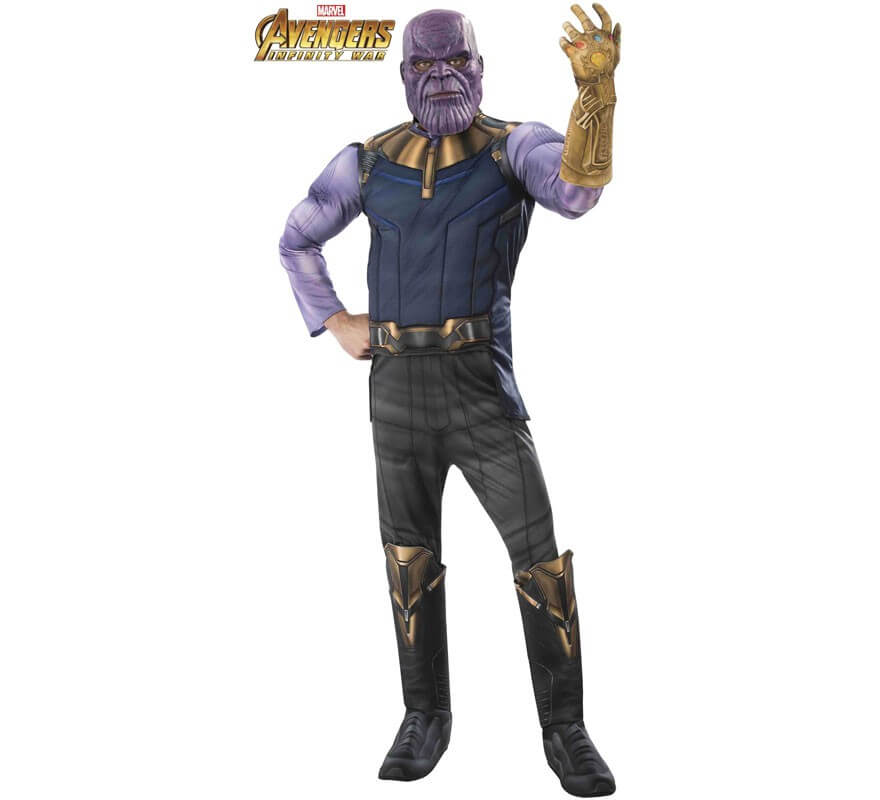 Disfraz de Thanos de los Vengadores para hombre