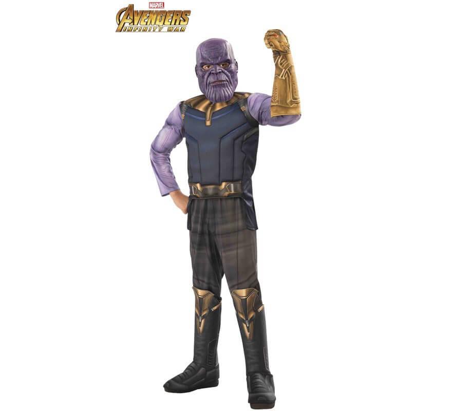 Disfraz de Thanos Premium de los Vengadores para niño