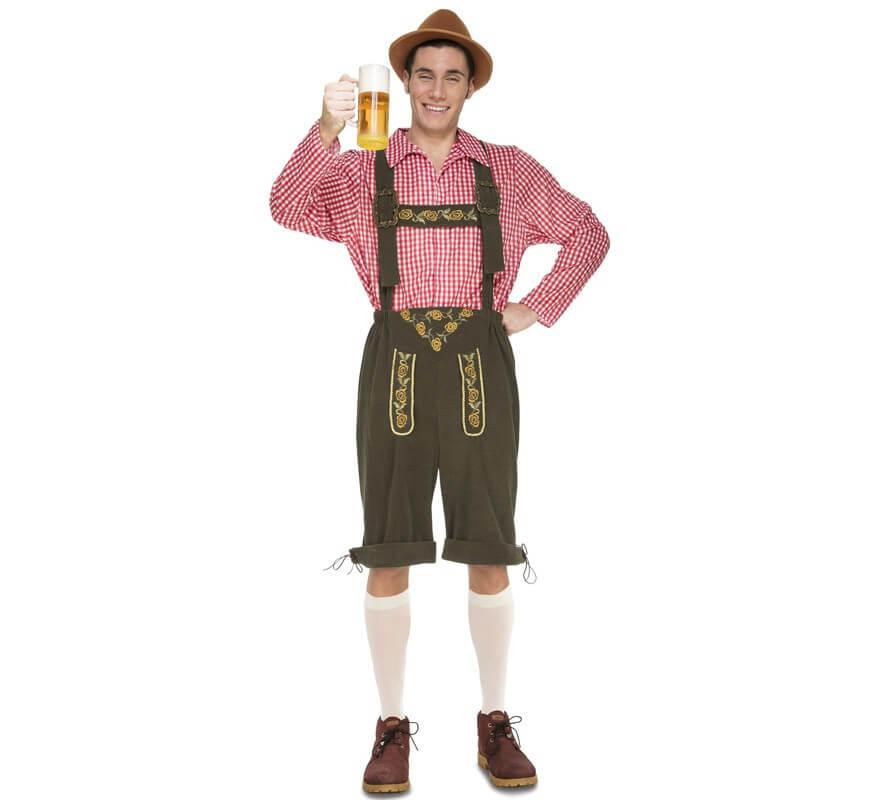 Image of Disfraz de Tirolés Oktoberfest para hombre 08435408241571 900b79189d14