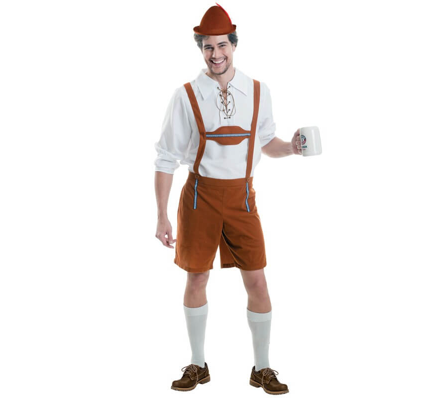 Disfraz de Tirolés Oktoberfest para hombres c2d78c37dc18