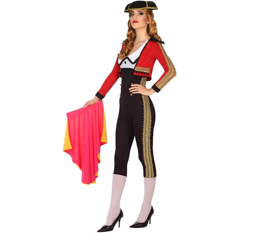 Disfraz de Torera Rojo y Negro para mujer 0190f0bbe77