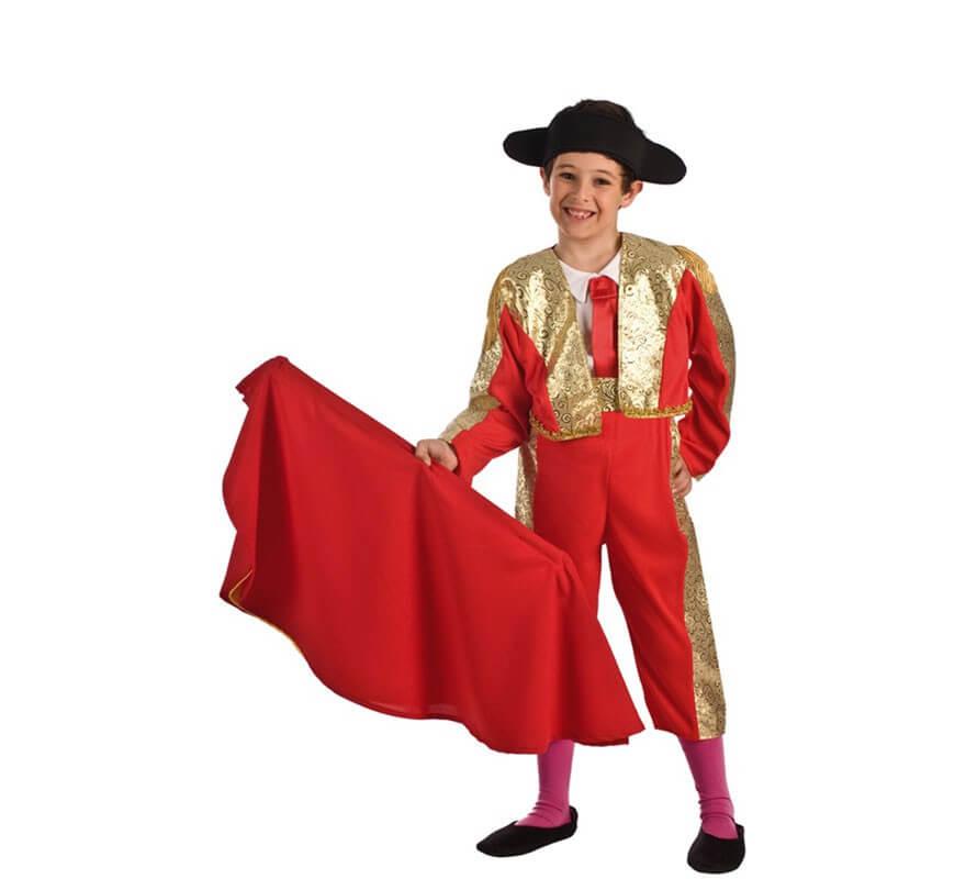 Niño Rojo Disfraz De Torero Para RjA4L5