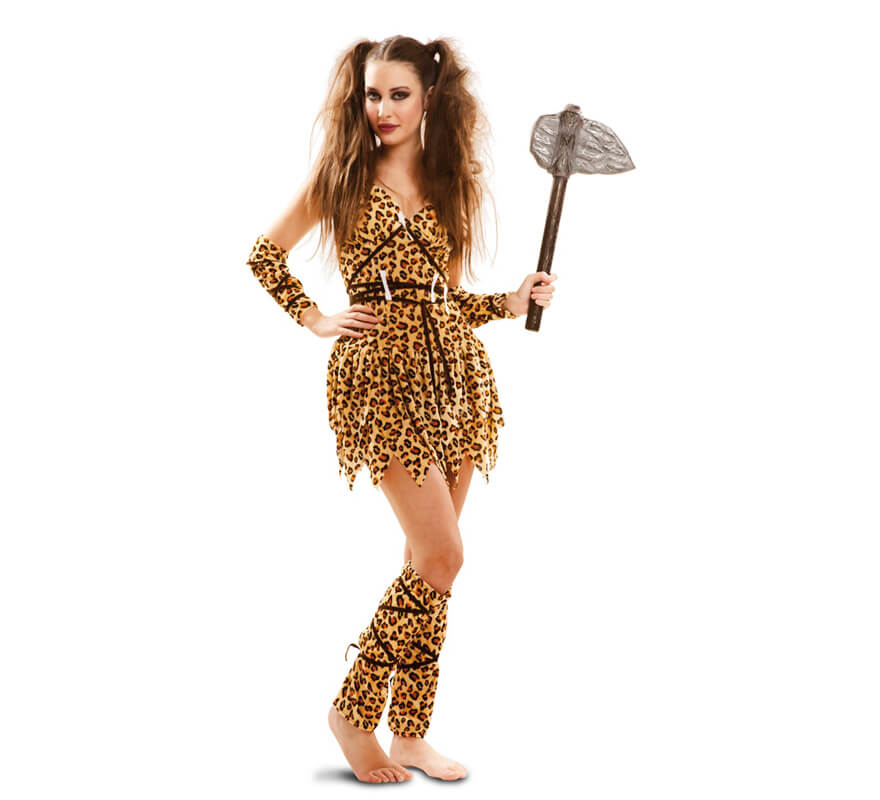 disfraz mujer troglodita