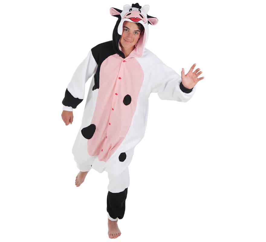 Disfraz de Vaca lechera para adultos