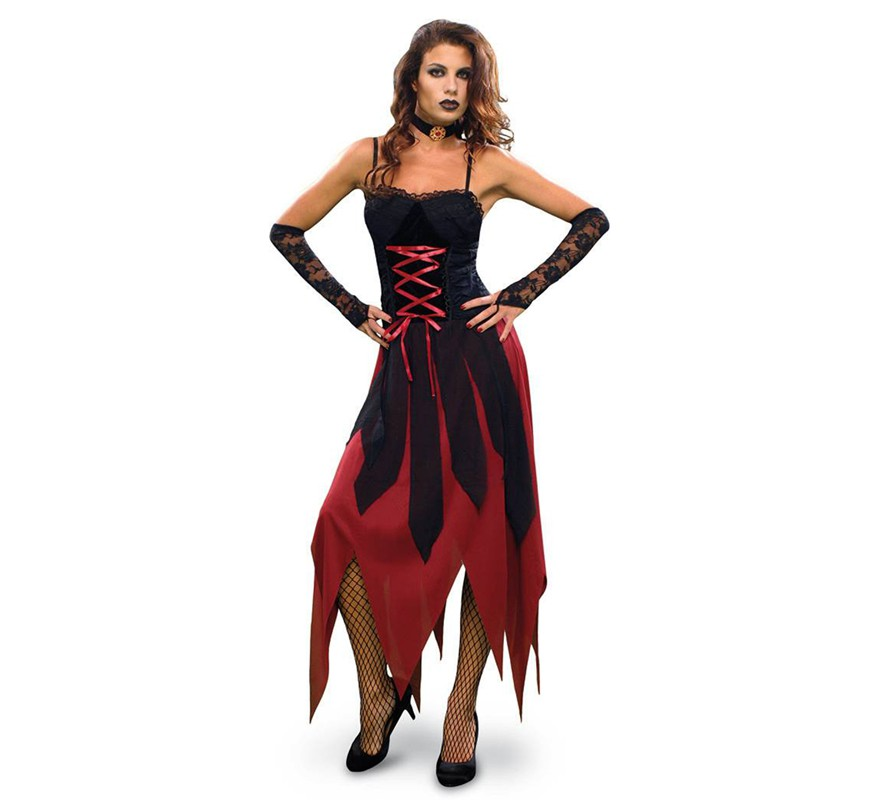 disfraces de halloween vampiresa
