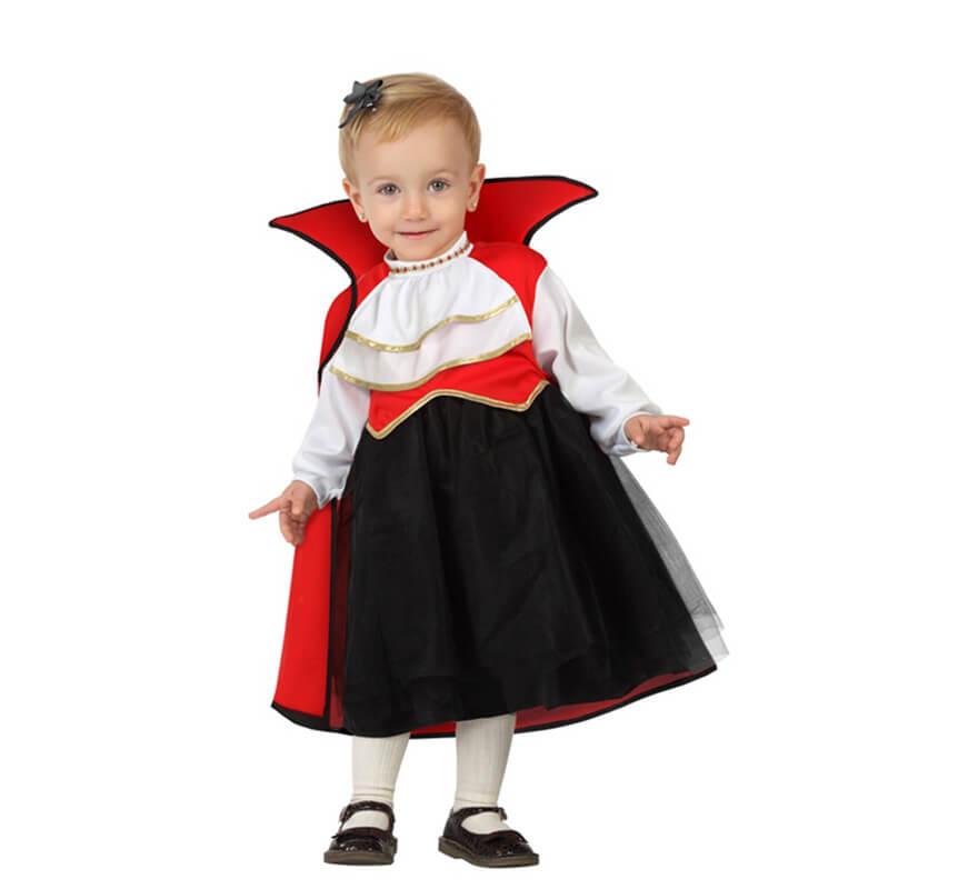 Disfraz de vampiresa - Disfraz halloween bebe 1 ano ...