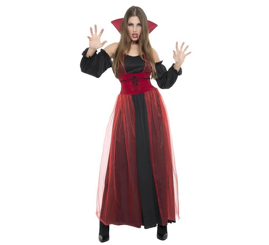 8b2755dda Disfraz de Vampiresa tul para mujer