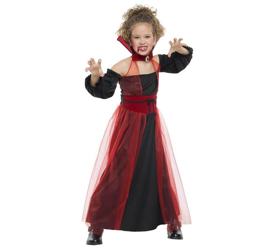 da8917267 Disfraz de Vampiresa tul para niña