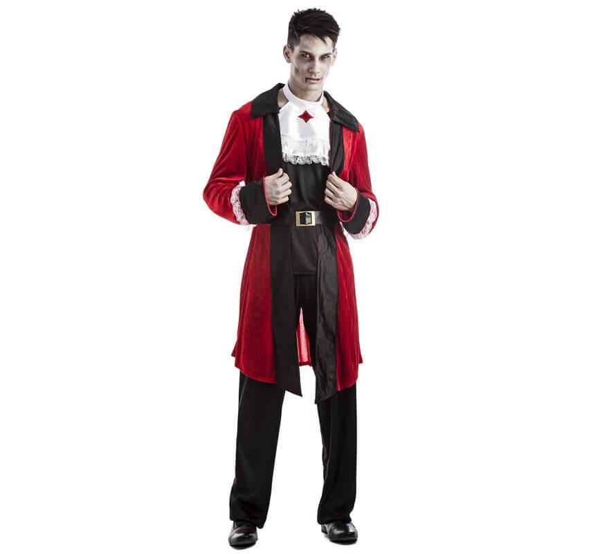 Disfraz de Vampiro Casaca para hombre
