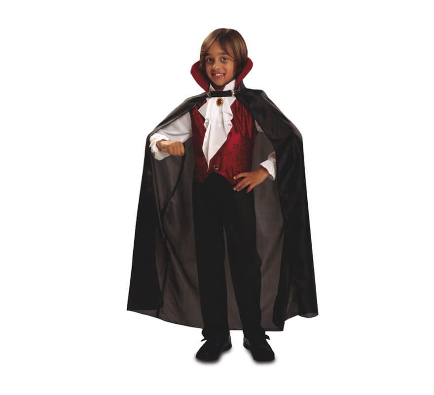 Disfraz de vampiro g tico para ni os para halloween for Disfraces de bichos