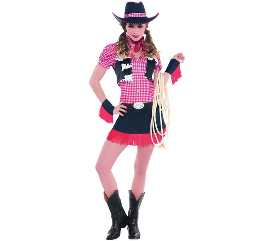 17ac37af01 Disfraz de Vaquera o Cowgirl de rodeo para mujeres