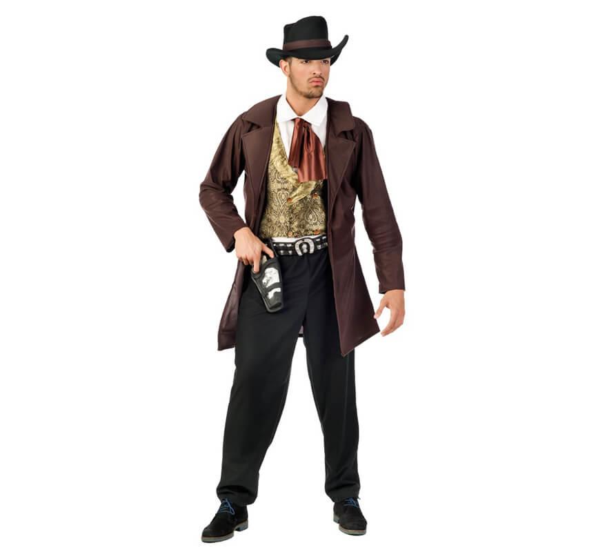 Disfraz de Vaquero Cowboy deluxe para hombre 6f8a79e50a6