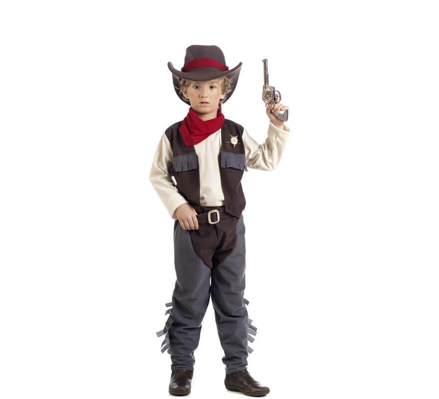 Disfraz De Vaquero James Para Niños