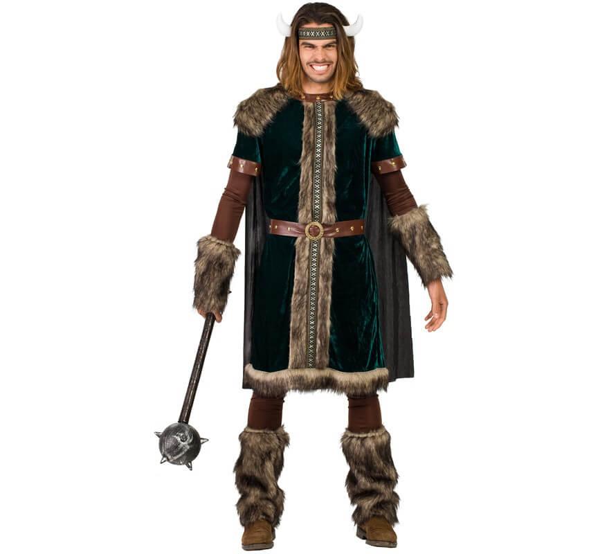 Disfraz de Vikingo verde para hombre 8dbee5578c4